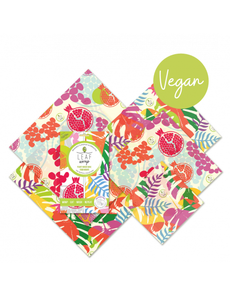 CARTA DELLE API VEGAN - FORMATO FAMIGLIA TROPICAL COLLECTION